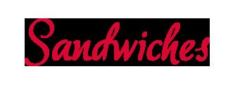 sandwiches Entrées-word-1